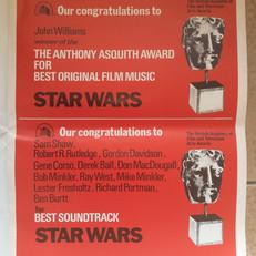 Screen International magazine Star Wars BAFTA advertisement