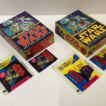 Topps UK Star Wars bubblegum with trading cards