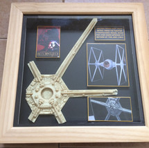 Unused TIE Fighter wing detail from ROTJ