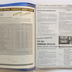 Special Products catalogues from US and UK 1984