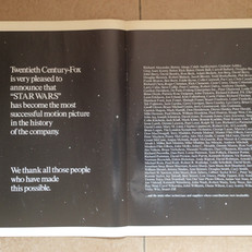 Screen International magazine Star Wars 20th Century Fox advertisement