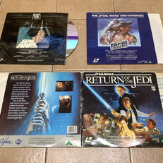 UK Laserdiscs by LaserVision