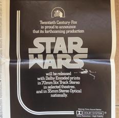 Screen International magazine Star Wars Dolby advertisement