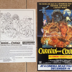 Caravan of Courage colouring competition and poster