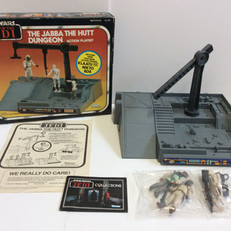 Kenner Jabba The Hutt Dungeon (Red box)