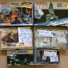 Airfix Return of the Jedi model kits