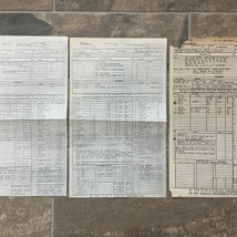 Blue Harvest call sheets