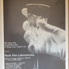 Screen International magazine The Empire Strikes Back Rank Film Laboratories advertisement