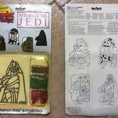 Contrac Crafts Makit & Bakit Return of the Jedi Suncatcher
