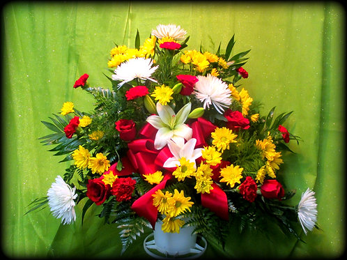 Funeral Basket 01 (Call for pricing details)
