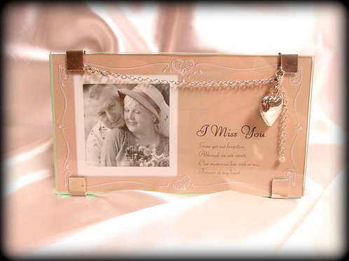 Memory Photo Frame and Necklace