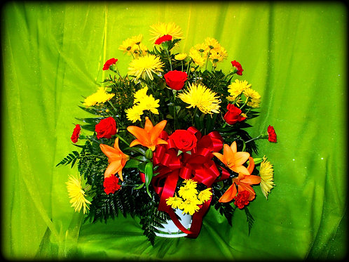 Funeral Basket 02 (Call for pricing details)