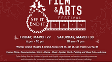 2019 Film & Arts Festival - March 29-30, 2019