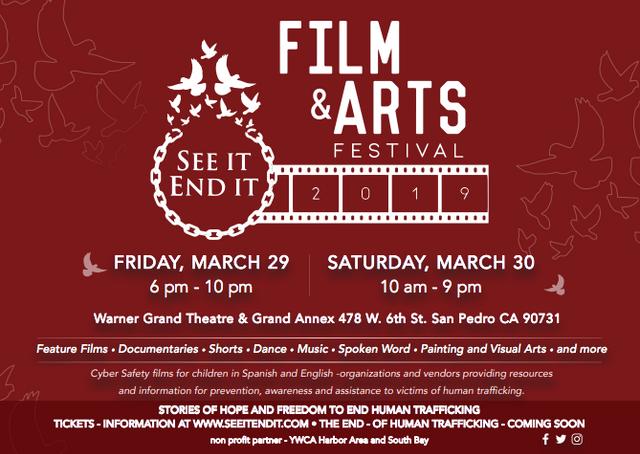 2019 Film & Arts Festival - March 29-30, 2019