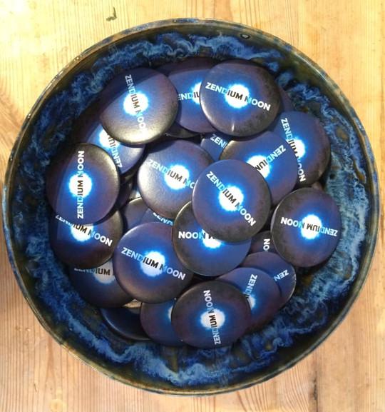 Zendium Moon badges
