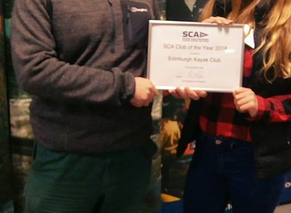 SCA Club Of The Year 2018