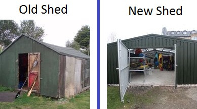Upcoming Official Opening of New Boat Shed