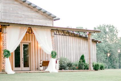 wedding venue decor auburn alabama