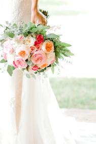 auburn brides wedding bouquet