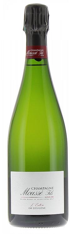 Champagne L'Or d'Eugène Blanc de Noirs - Moussé Fils