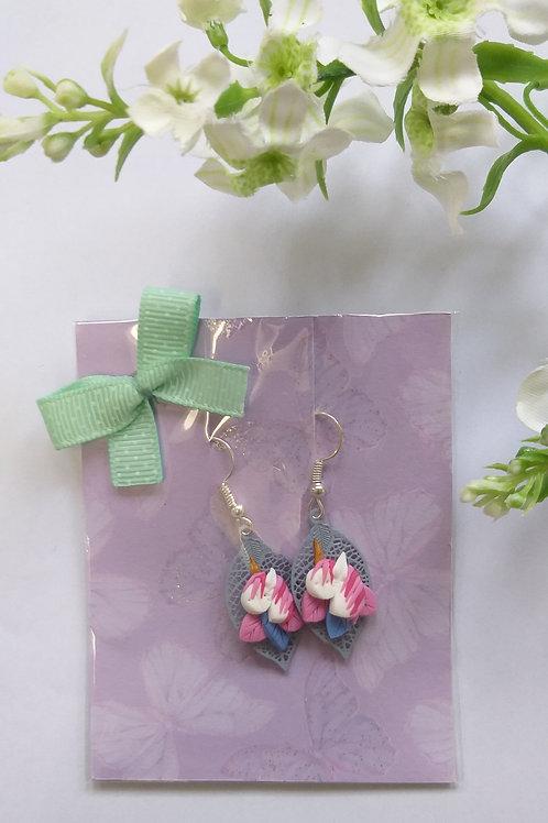 Boucles d'oreilles licorne - BO0033
