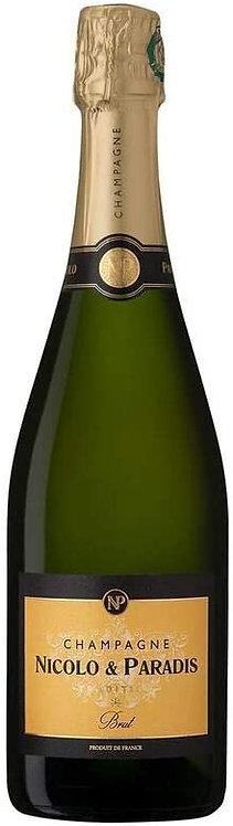 Champagne Tradition Brut - Nicolo & Paradis