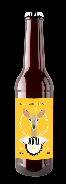 BICH blonde 75 cl - Brasserie de Minuit (49 - Cholet)