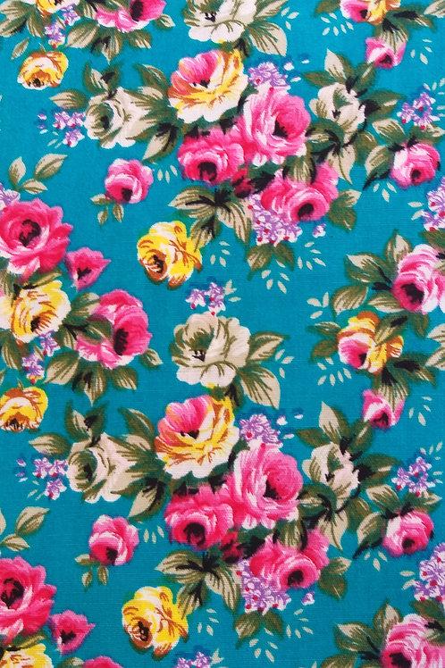 Adultes - Liberty bleu rose