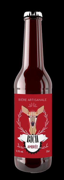 BICH ambrée 75 cl - Brasserie de Minuit (49 - Cholet)
