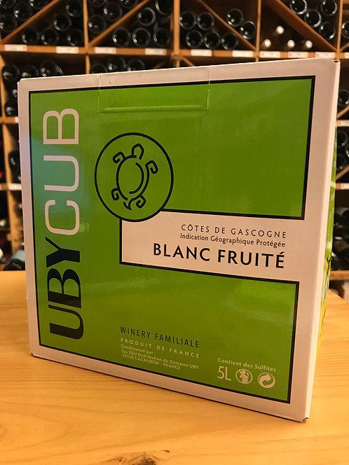 BIB BLANC 5 litres - IGP Côtes de Gascogne - UBY CUB