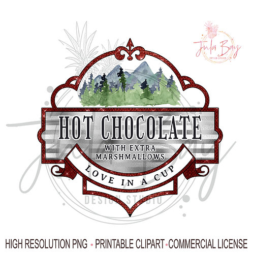 Hot Chocolate PNG It's a Hot Chocolate with Extra Marshmallows Love In A Cup