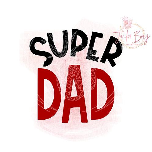 Super Dad SVG PNG EPS DXF
