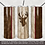 Thumbnail: Wood tumbler wrap with Deer Two Tone Masculine Tumbler PNG Wrap