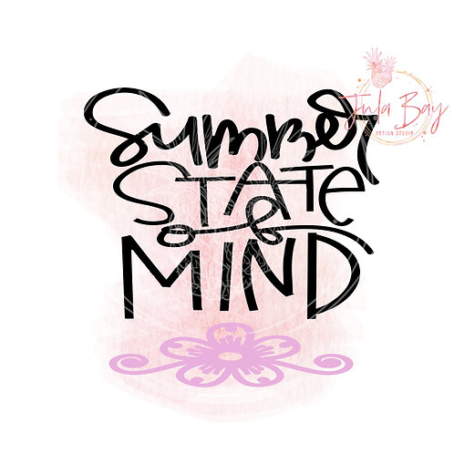 Summer State of Mind SVG PNG EPS DXF