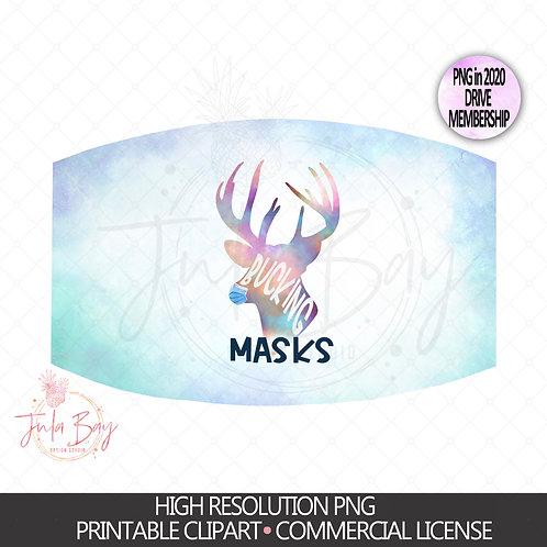 Bucking Masks PNG Digital Download - Mask Hater Mask Design Hunter Mask