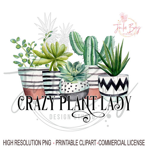 Pothead PNG Succulents Marijuana Pot Sublimation Design