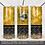 Thumbnail: Full Wrap 20oz Skinny Tumbler PNG Queen Bee Honey comb peek a boo tumbler design