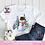 Thumbnail: Snowman with Tophat & Scarf Christmas Scene Snowman Christmas Trees