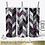 Thumbnail: Tangram Skinny Tumbler Sublimation Design Purple Glitter Foil 20oz 30oz PNG