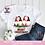 Thumbnail: Gnomes Merry Christmas PNG   Family of 4 Christmas Jammies Design