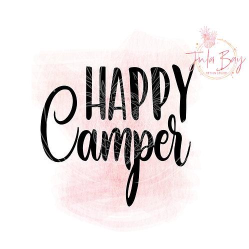 Happy Camper SVG PNG EPS DXF