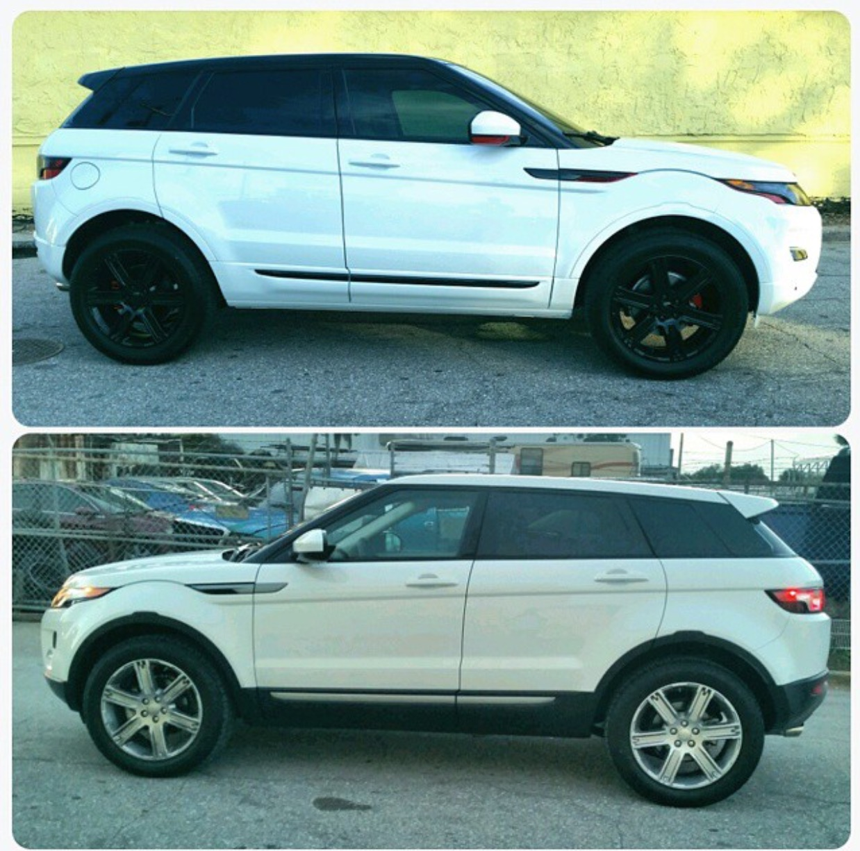 Custom Range Rover Evoque