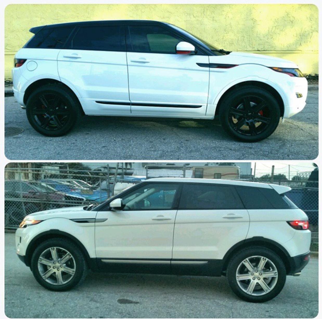 Custom Range Rover Evoque