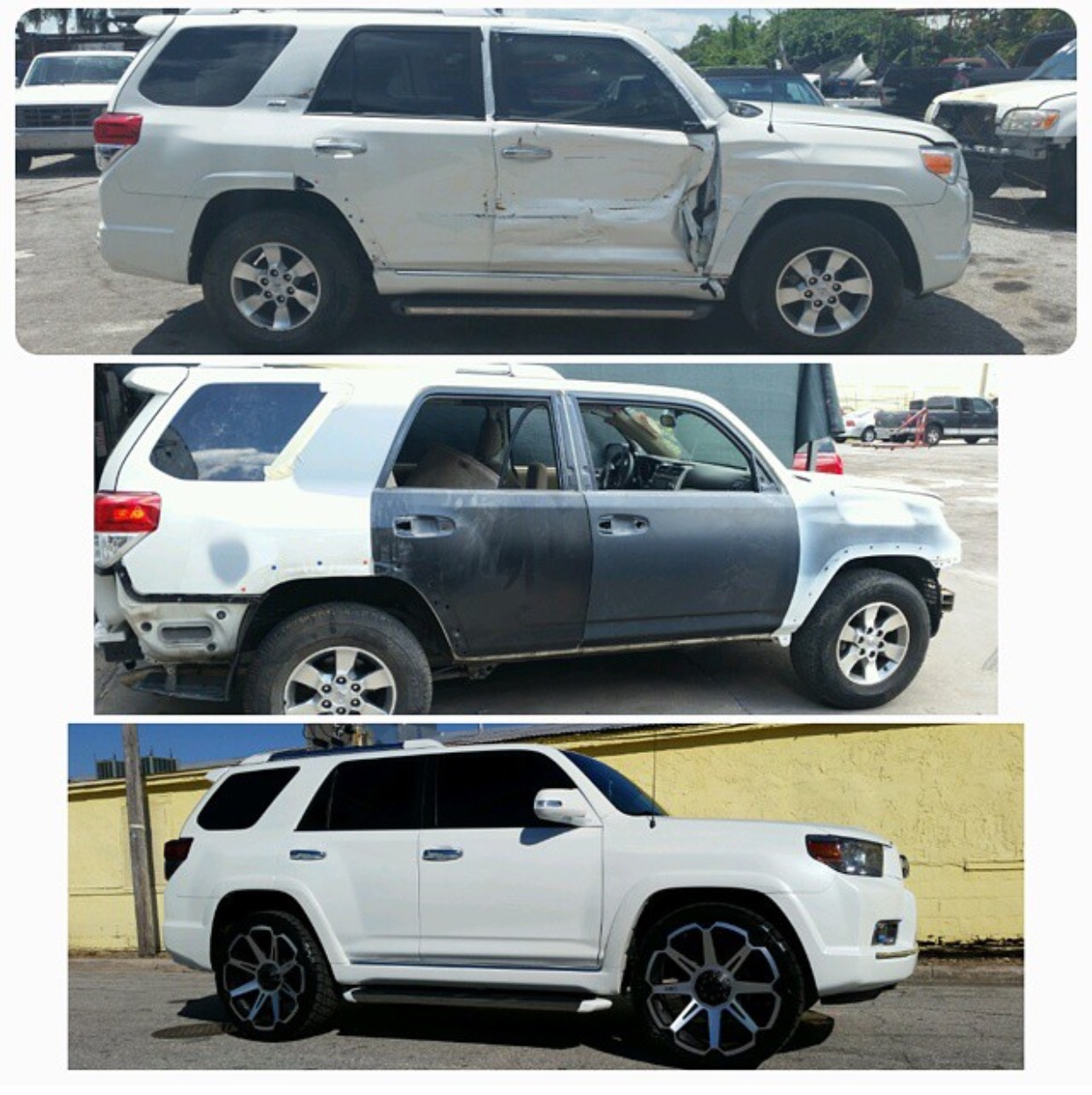 Toyota 4runner Status Alloy wheels