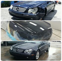 Mercedes Benz CLK500