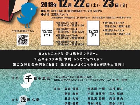 元橋日向 朗読劇「赤ずきんと青い鳥」出演