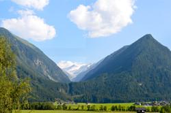 Blick Alpenquartier Gipfelblick