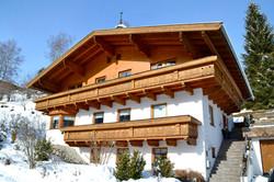 Alpenquartier Gipfelblick von außen