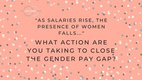 """As salaries rise, the presence of women falls…"""