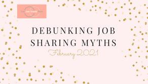 Debunking job sharing myths...
